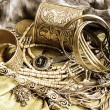 Art jewelry vintage background — 图库照片