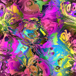 Art vintage floral pattern background — Stock Photo #6810192