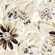 Art vintage floral pattern background - Stock Photo