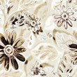 Stock Photo: Art vintage floral pattern background