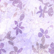 Art grunge floral background - Stock Photo