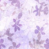 Fondo floral arte grunge — Foto de Stock