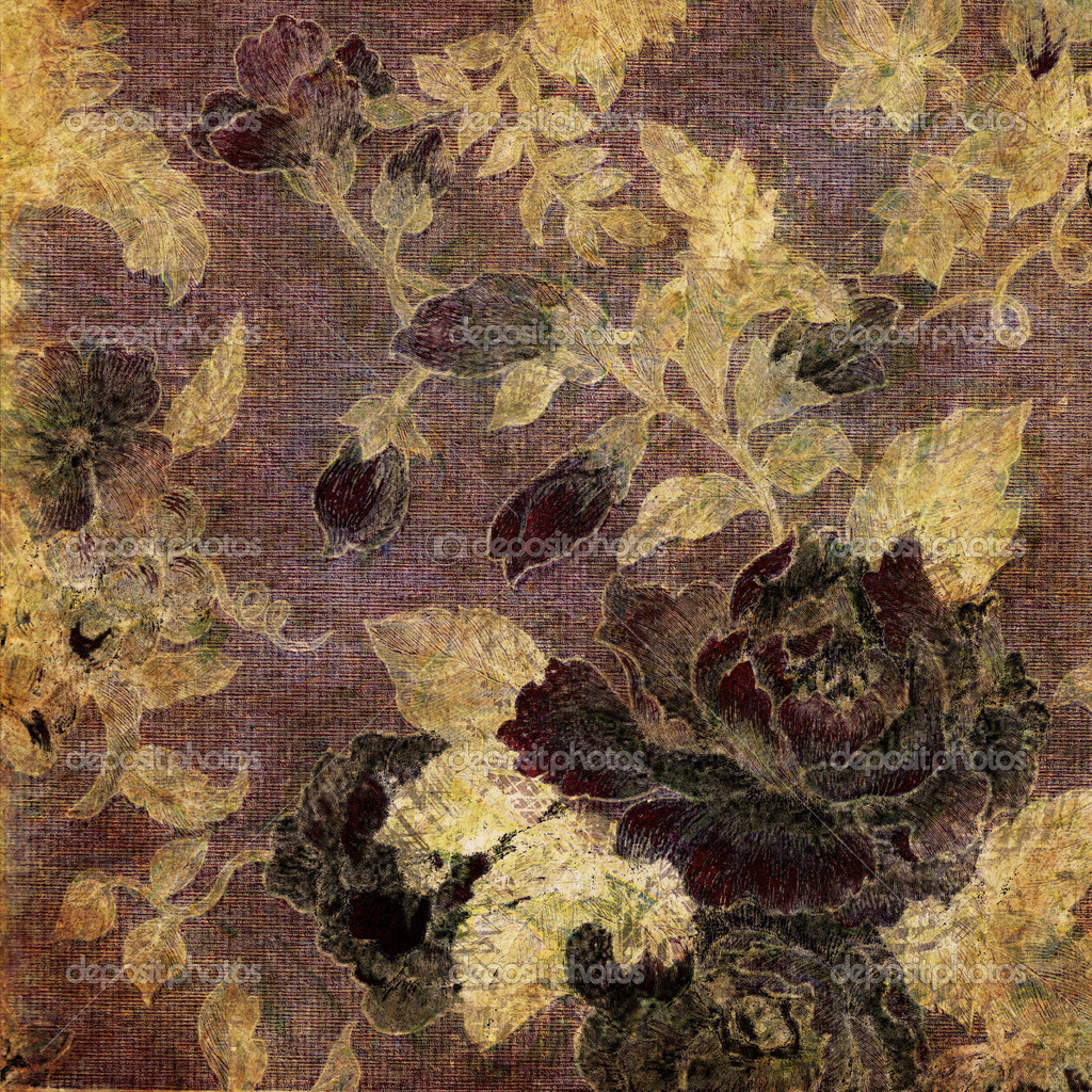 Art vintage floral pattern background   Stock Photo #6810167