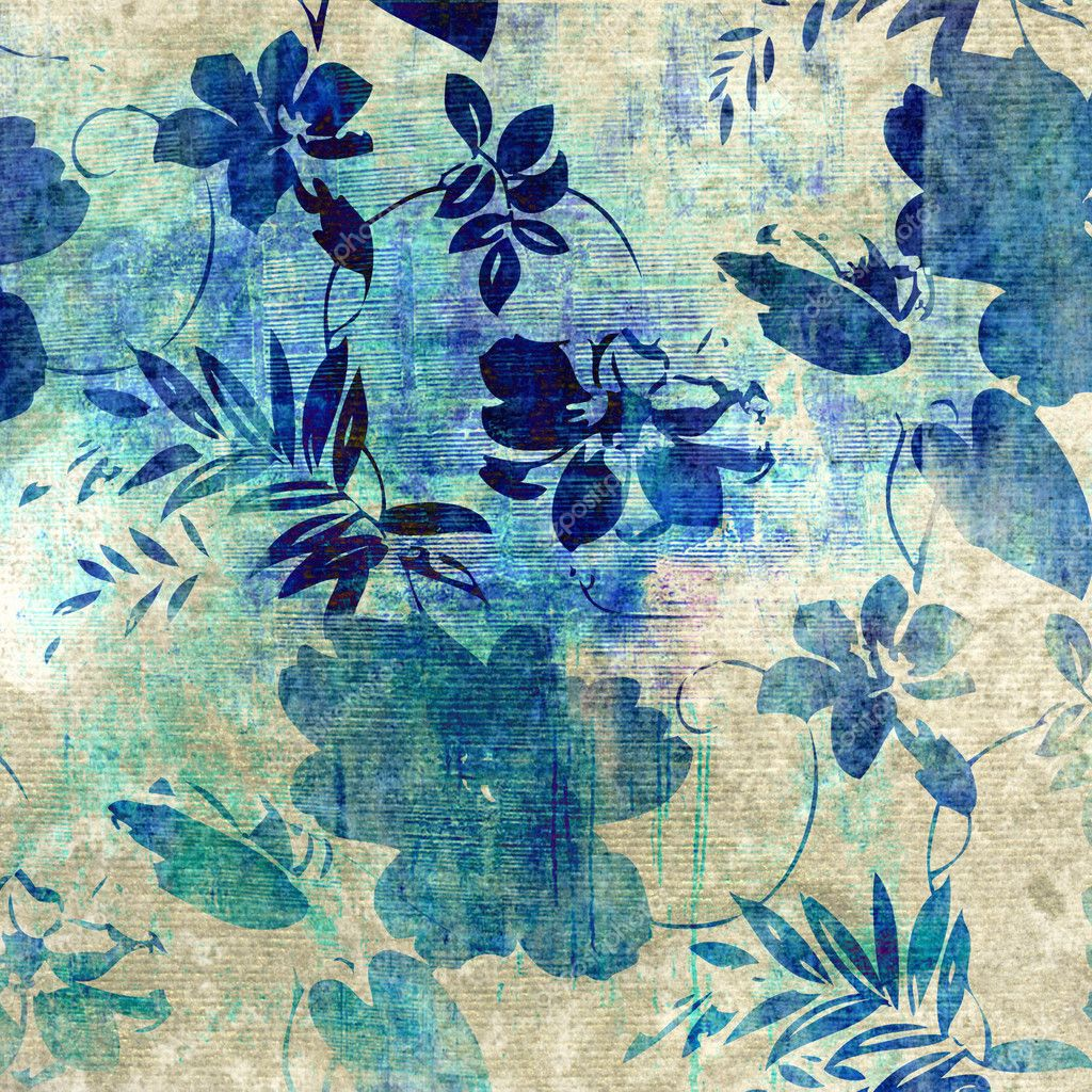 Art floral grunge background pattern — Stock Photo #6816196