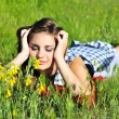 Spring relaxatioan — Stock Photo #6754333