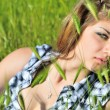 In the grass — Stock Photo #6754352