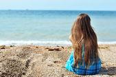 Solitude near the sea — Stock Photo