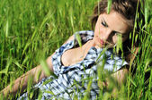 Dama de hierba — Foto de Stock