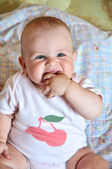 Chubby baby — Stock Photo
