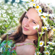 Daisy happiness — Stock Photo