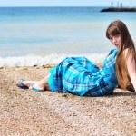 Summer girl — Stock Photo