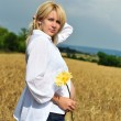 Sunny pregnance - Stock Photo
