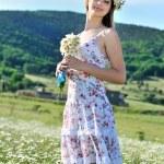 Stunning spring lady — Stock Photo