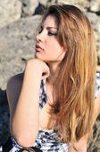 Atractiva adolescente — Foto de Stock