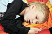 Sleeping boy — Stock Photo