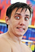 Surprised man — Stock Photo