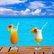 Two cocktails on table - Stock Photo