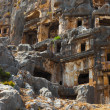 Ancient town in Myra, Turkey - Stock Photo