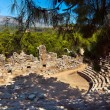 Old amphitheater Phaselis in Antalya, Turkey - Stock Photo