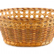 Stock Photo: Wood basket