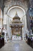 Church interior at Trogir in Croatia — Stock Photo