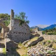 Ruins of old town in Mystras, Greece — Stock Photo #7858124