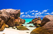 Praia tropical — Fotografia Stock