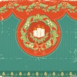 Vintage Christmas card for background — Stock Vector #7147960