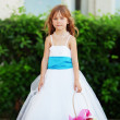 Little bridesmaid — Stock Photo #6781505