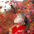Child in autumn — Stock Photo #6781674