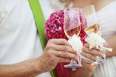 Wedding celebration — Stock Photo