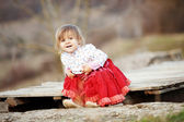 Cute toddler — Stock Photo