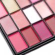 Lipstick palette — Stock Photo