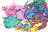 Lose eyeshadows — Stockfoto