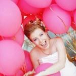 Cheerful bride — Stock Photo #6814926