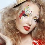 Stylish make-up — Stock Photo