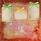 Vintage background for invitation — Stock Photo
