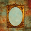 Vintage background with frame — Stock Photo
