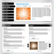Web design template set 2.0. - Stock Vector