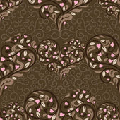 Seamless pattern with abstract heart — Stock Vector