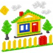Royalty-Free Stock Vector Image: Constructor house