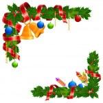 Christmas angle garland — Stock Vector #7530008