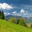 Landscape in the bavarian Alps — Stock Photo