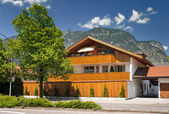 House in the bavarian Alps — Stock Photo