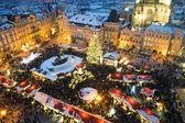 Prag'da fuar. noel — Stok fotoğraf