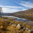Autumn at Haukeli - Stock Photo