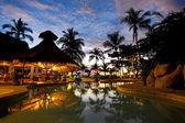 Costa Rica resort — Stock Photo