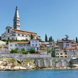 Stock Photo: Old Town of Rovinj, Croatia