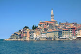 Sea viev on Old Town of Rovinj, Croatia — Stock Photo