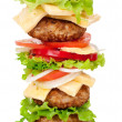 Big hamburger — Stock Photo #6833423